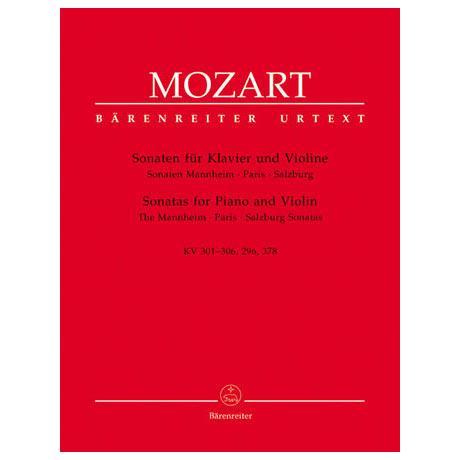 Mozart, W.A.: Sonaten