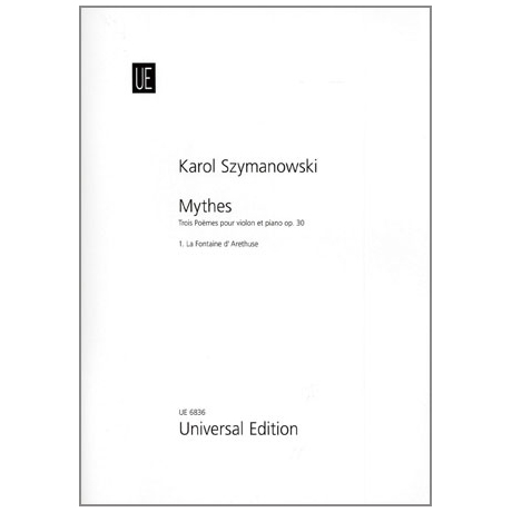 Szymanowski, K.: Mythes Op. 30,1: La Fontaine d'Arethuse