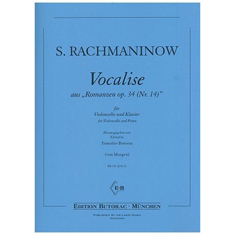 Rachmaninow, S.: Vocalise aus »Romanzen Nr.14 Op.34«