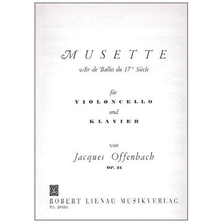 Offenbach, J.: Musette Op. 24 - Air de ballet du 17e siècle