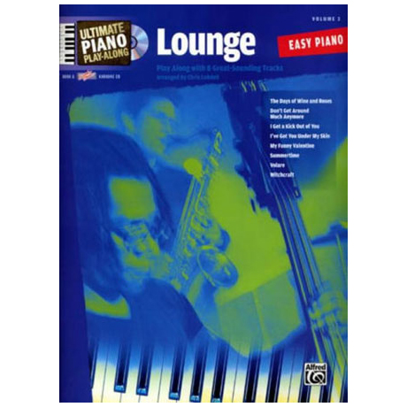 Ultimate Piano Play-Along – Lounge (+CD)