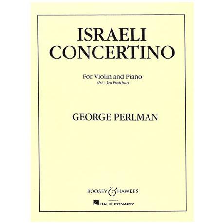 Perlman, G.: Israeli Concertino