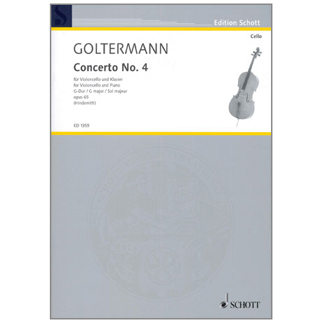 Goltermann, G.: Violoncellokonzert Op. 65/4