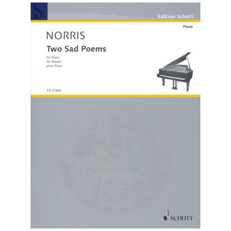 Norris: Two sad Poems