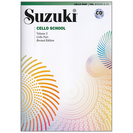 Suzuki Cello School Vol.2 (+CD)