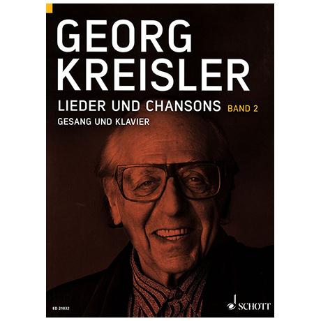 Kreisler, G.: Lieder und Chansons Bd.2