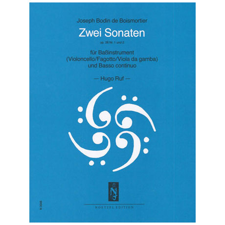 Boismortier, J. B. de: 2 Sonaten: Op.26 Nr.1 D-Dur & Op.26 Nr.2 a-Moll