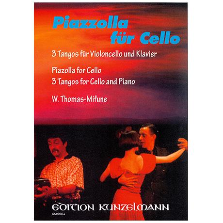 Piazzolla for Cello – 3 Tangos