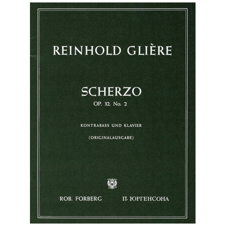 Glière, R.: Scherzo Op.32/2
