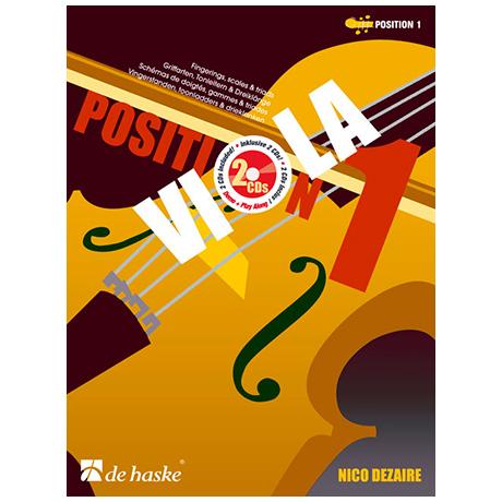 Dezaire, N.: Viola Position 1 (+2 CD's)