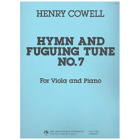 Cowell, H.D.: Hymn and Fuguing Tune No.7