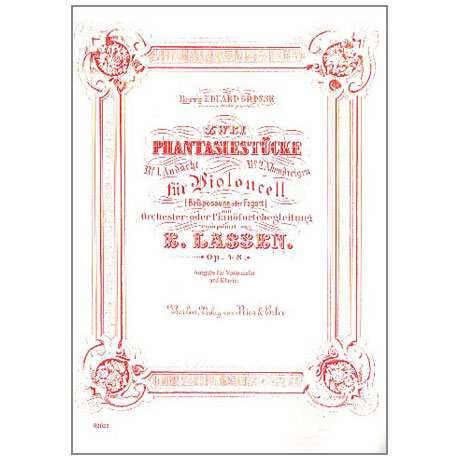 Lassen, E.: 2 Phantasiestücke Op. 48