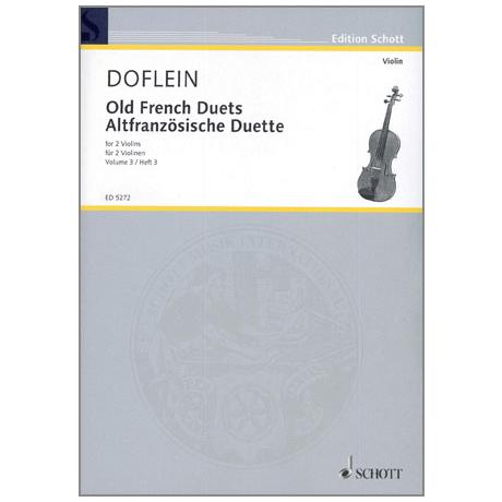 Doflein, E.: Altfranzösische Duette Band 3