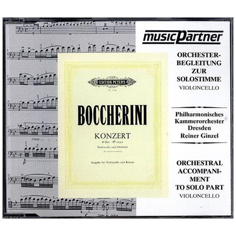 Boccherini, L.: Cellokonzert B-Dur Compact-Disc CD