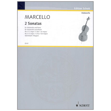 Marcello: Zwei Sonaten ( Nr.5 C-Dur und Nr.6 G-Dur)