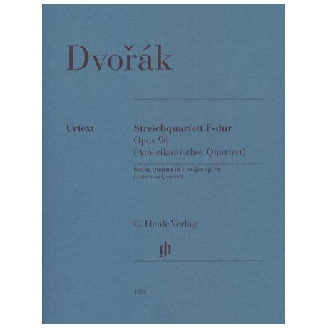 Dvořák, A.: Streichquartett Op. 96 F-Dur »Amerikanisches«