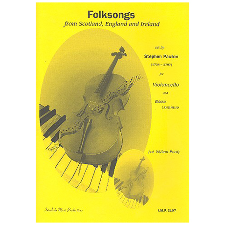 Folksongs from Scotland, England and Ireland