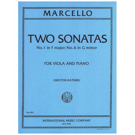 Marcello, B.: 2 Sonaten in F-Dur & g-moll