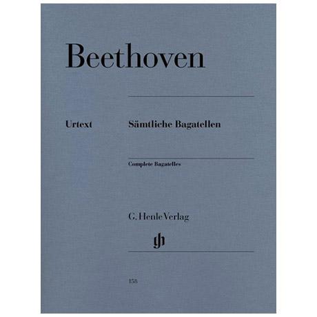 Beethoven, L. v.: Sämtliche Bagatellen