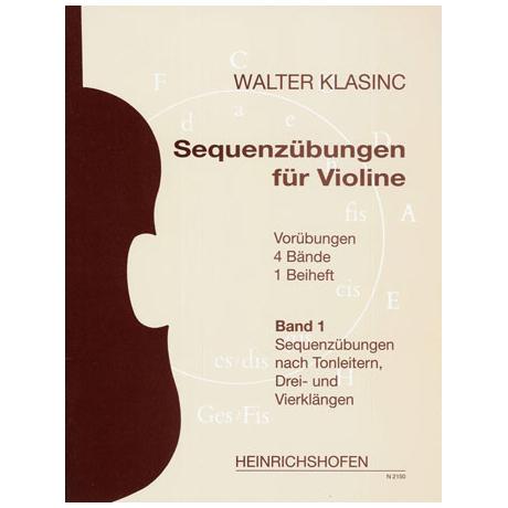 Klasinc, W.: Sequenzübungen Band 1