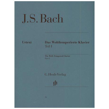 Bach, J.S.: Das Wohltemperierte Klavier Teil I
