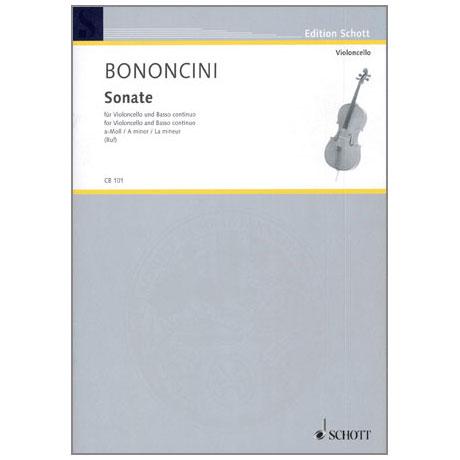 Bononcini, G. B.: Sonate a-Moll