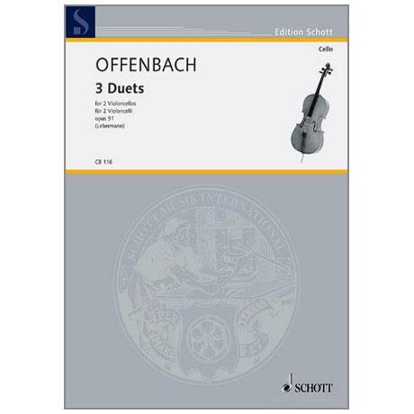 Offenbach, J.: 3 Duette Op.51