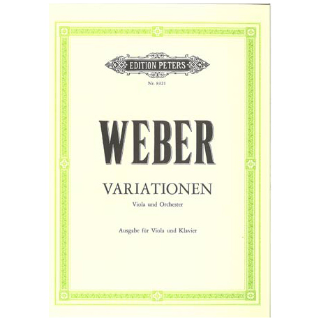 Weber, C. M. v.: Variationen