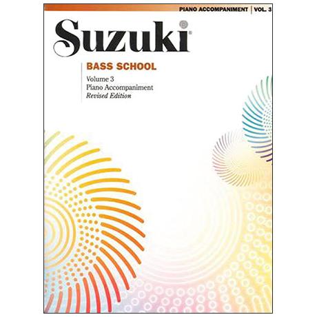 Suzuki Bass School Vol.3 – Piano Accompaniment