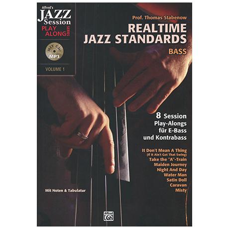 Stabenow, Thomas Prof.: Realtime Jazz Standards (+CD)