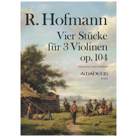 Hofmann, R.: Vier Stücke
