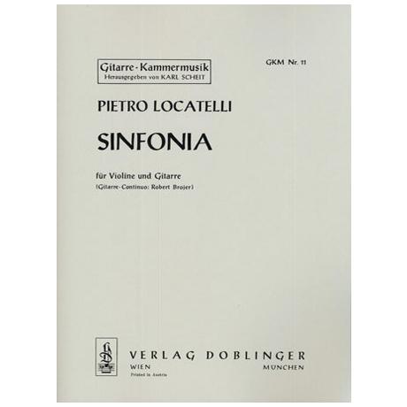 Locatelli, P.: Sinfonia d-moll