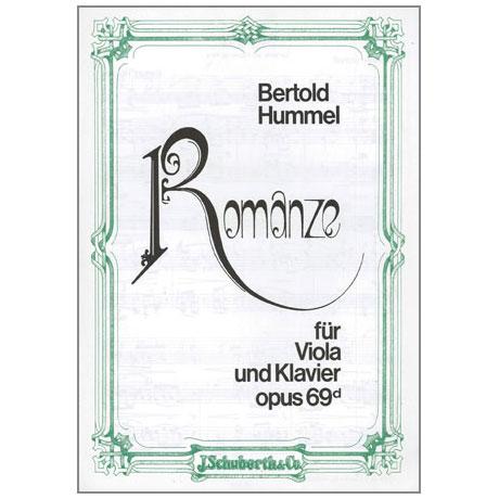 Hummel, B.: Romanze Op. 69d