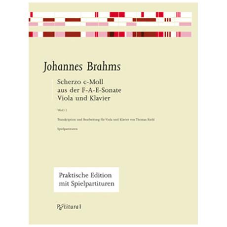 Brahms, J.: Scherzo aus der F-A-E-Sonate c-Moll WoO 2