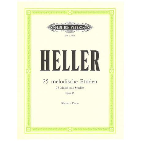 Heller, Stephen: 25 Melodische Etüden op. 45