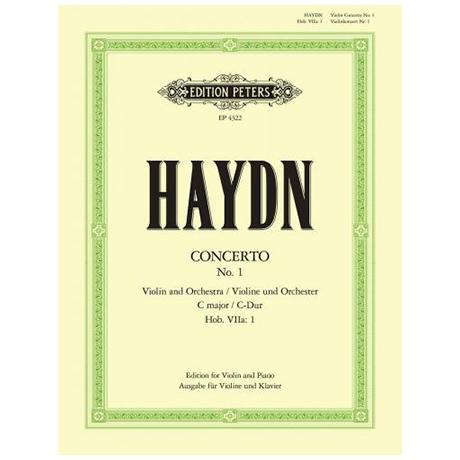 Haydn, J.: Violinkonzert Hob. VIIa: 1 C-Dur