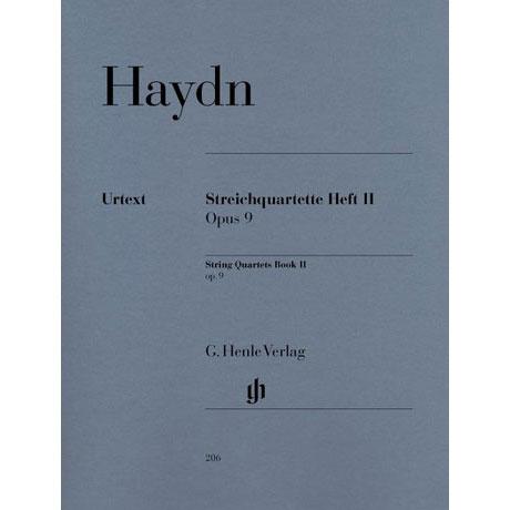 Haydn, J.: Streichquartette Heft 2: Op. 9/1-6 Urtext