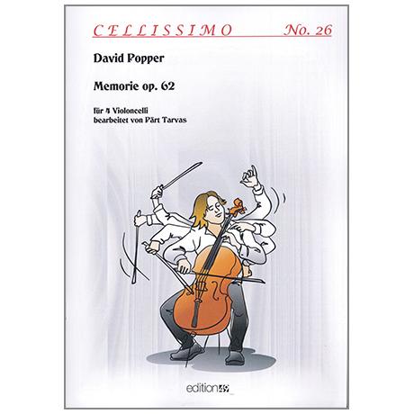 Popper, D.: Memorie Op. 62