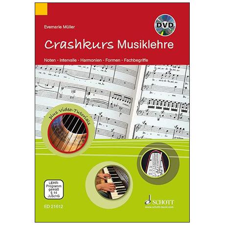 Müller, E.: Crashkurs Musiklehre (+CD)