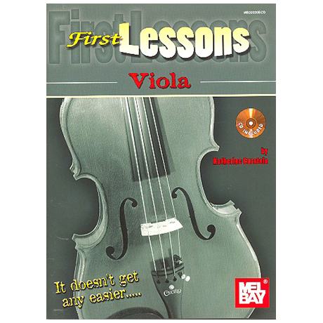 Curatolo, K.: First Lessons Viola (+CD)