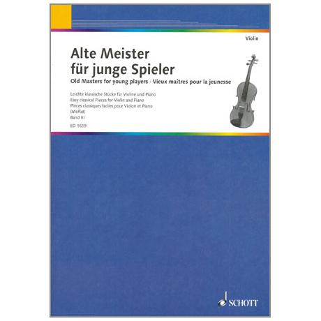Alte Meister für junge Spieler Band 3