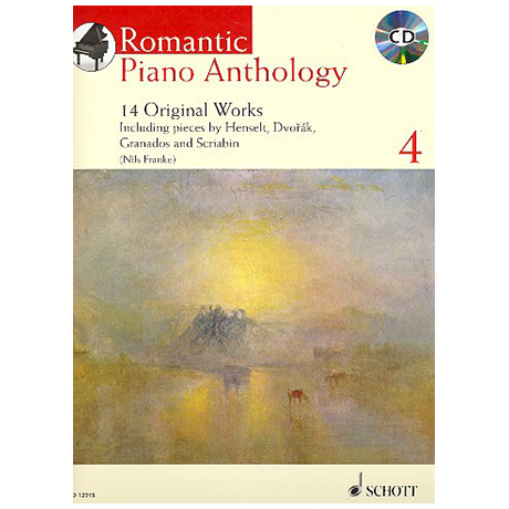 Romantic Piano Anthology - Band 4 (+CD)