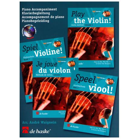 Elst, J.v. : Spiel Violine Band 1 (+CD)
