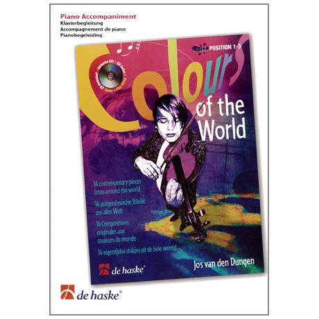Dungen, J. van den: Colours of the World – Klavier