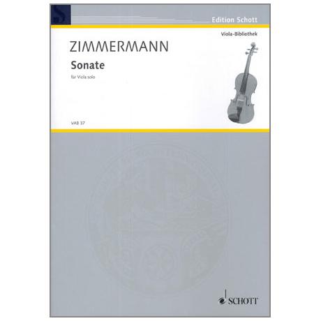 Zimmermann, B.A.: Sonate
