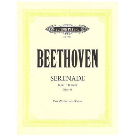 Beethoven, L.v.: Serenade D-Dur, op. 41