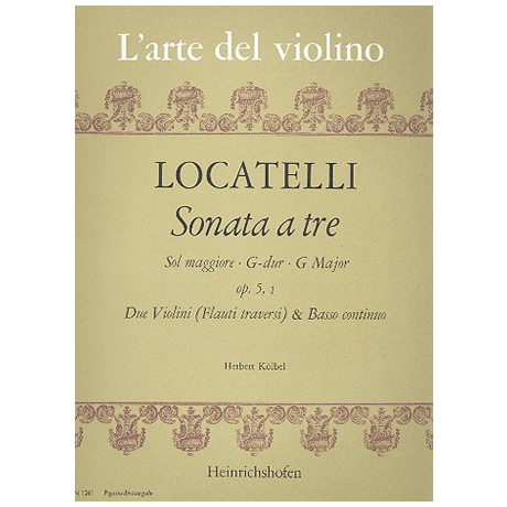 Locatelli, P.: Triosonate G-Dur Op.5 Nr.1
