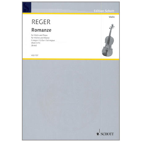 Reger, M.: Romanze WoO II/10 G-Dur