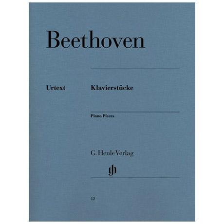 Beethoven, L. v.: Klavierstücke