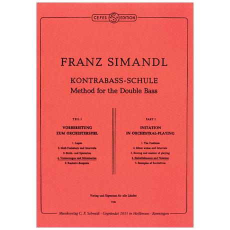 Simandl, Franz: Kontrabass-Schule Band 4